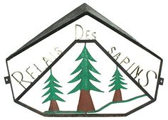 Relais Des Sapins Sign | Christmas in Provence | One Kings Lane