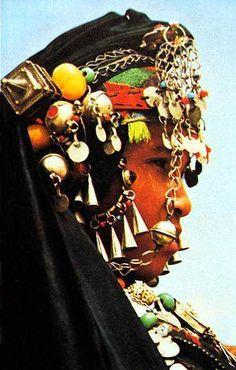 Africa | Portrait of a berber woman | Photographer ?