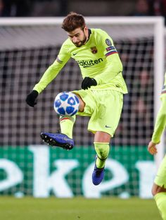 Gerard Pique of FC Barcelona during the UEFA Champions League match between PSV v FC Barcelona at the Philips Stadium on November 2018 in Eindhoven Netherlands Get premium, high resolution news photos at Getty Images Eindhoven Netherlands, Uefa Champions League, Fc Barcelona, November, Soccer, Van, Barcelona Players, Pique, November Born