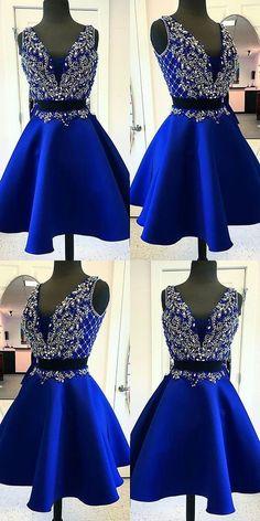 Cheap homecoming dresses 2017,A Line Prom Dress,Short Prom dress,PD455820