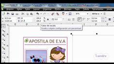 Curso Papelaria Personalizada - Como Fazer uma Apostila em PDF no CorelDraw