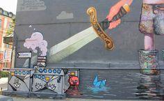 Peace at spring time  #graffiti #mural
