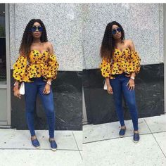 Are you looking for some stylish and trendy ankara tops to wear with Jeans? Then this post will help you in looking for the perfect African print to buy or make for your jean pants. One of the re…