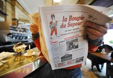 At newsstands across France on Wednesday, readers will delight to a humorous broadsheet published every four years — on leap day. The quadrennial newspaper attracts readers with its satire. Its newsroom is a restaurant; the writers fuel themselves with Champagne.
