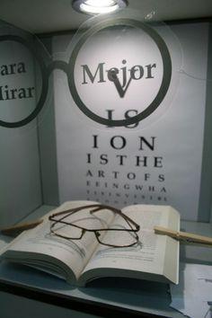 Top Ten Eye Chart Window Displays