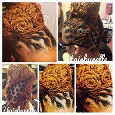 Pin Curls #hairbyrelle