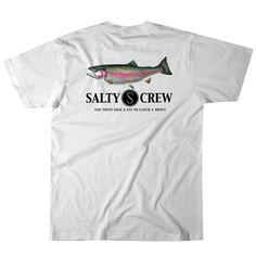 Salty Crew Men's Rainbow T Shirt