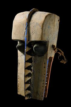 "Mask ""waka kakada"", Mali, Dogon - Art Curator & Art Adviser. I am targeting the most exceptional art! See Catalog @ http://www.BusaccaGallery.com"