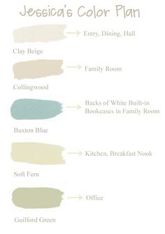 Redesign: Paint Colors for Jessica's House | Meadow Lake RoadMeadow Lake Road