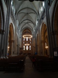 Cathedral of Saint Peter, Geneva, Switzerland. {photo by Cat Bouthillier}