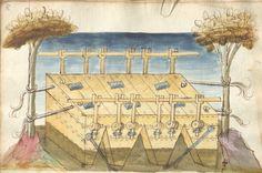 Bellifortis VerfasserKyeser, Conradus  ErschienenElsaß, [um 1460] Ms. germ. qu. 15  Folio 107r