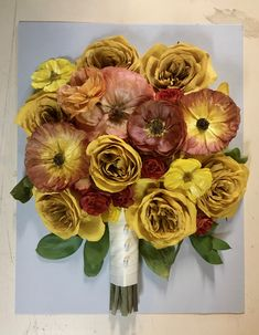 The bright yellow blooms in the bouquet recreation can't help but make you smile. Preservation designs that spread cheer year after year. #leighflorist #weddingbouquet #bridalbouquet #weddingflowers #weddingflorist #njweddingflorist #phillyweddingflorist #floralpreservation #foreverkeepsake #yellowroses #brightandsunny Wedding Bouquets, Wedding Flowers, Custom Shadow Box, Flowers Delivered, Local Florist, Yellow Roses, Bright Yellow, Box Design, Preserves