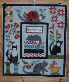 lauraluvsloons and Quilting too.: Quilt sold for Friends of Feral Felines