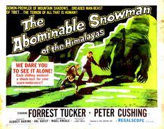 "The Abominable Snowman (1957) ""O Abominável Homem das Neves"""
