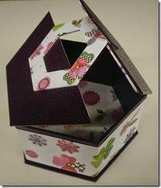 Boite hexagonale macarons 20-Su Mei C