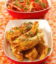 Poulet au citron à l'indienne - recette indienne Patak's Pâte de curry