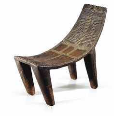 Ngombe Stool, Democratic Republic of the Congo Yves Saint Laurent Collection African Design, African Art, African Style, Congo, Antique Brass Chandelier, African Furniture, African House, Minimalist Pattern, Floor Wallpaper