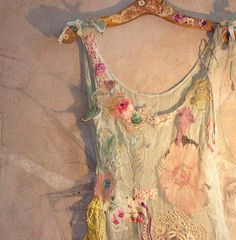SUMMER TIME Beautiful Boho Country Top Hippi  by Paulina722,