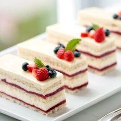 Raspberry rose cream cake