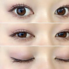 asian makeup – Hair and beauty tips, tricks and tutorials Asian Makeup Prom, Asian Makeup Looks, Makeup Art, Makeup Tips, Hair Makeup, Natural Eyes, Natural Eye Makeup, Asian Makeup Tutorials, Cute Japanese Girl