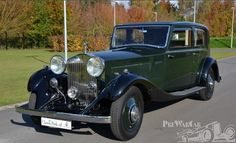 1934 Rolls-Royce II Sports Saloon by James Young