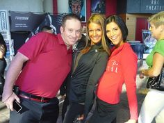 Nice Pro Fitness Models Diana Chaloux and Miryah Jade Scott with Brock Brown of Grizzly Fitness