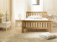 Richmond Solid Oak Bed in Super King Size