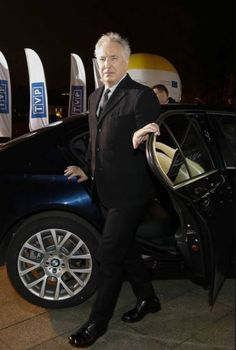 March 25, 2015 - Alan Rickman arriving at the 25th BBC Films anniversary reception. -- -- I think.
