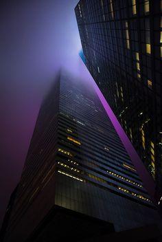 NY - Into the Purple Mist by pandadumpster, via Flickr