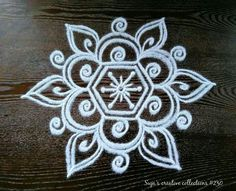 Rangoli Kolam Designs on Happy Shappy in Here you can find the most beautiful & Simple design, photos, images, free hand and more in Small & Large design Ideas Rangoli Designs Latest, Simple Rangoli Designs Images, Rangoli Designs Flower, Rangoli Patterns, Rangoli Ideas, Rangoli Designs With Dots, Rangoli Designs Diwali, Kolam Rangoli, Flower Rangoli