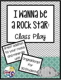 This 9 page play is filled with excellent scientific information about rocks and minerals, including sedimentary, igneous, and metamorphic types, fossils, Moh's Scale of Hardness and more. Even better, this reader's theater is one that's fun! (TpT Resource)