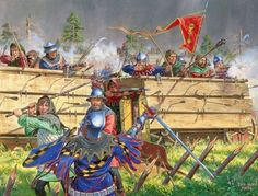 Hussite Wars–Warfare