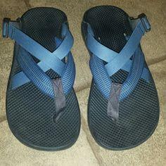 de1efb88ebc8 Mens size 9 blue Chaco sandals Mens size 9 Chaco sandals. Color is blue