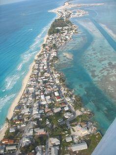 Aerial view of Bimini