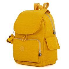 Ravier Backpack - Warm Yellow   Kipling