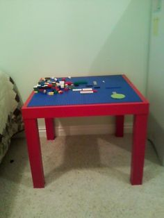Make your own lego table