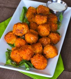 Buffalo quinoa bites! <--Ohmyword, can't wait to try these!!