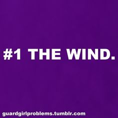 """Color Guard Problem! Oh wait....I forgot that the wind is supposed to be my """"best friend""""."""
