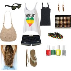 Rasta Summer ;), created by audry-schaefer on Polyvore