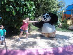 Panda y su nueva alumna de Kung Fu!!!!