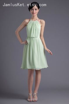 Sage Bridesmaid Dress 1