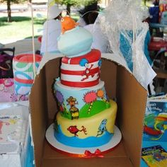 Dr. Seuss cake...Fresh off the delivery truck!!! | Yelp