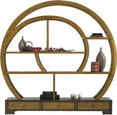 Spiral book shelf