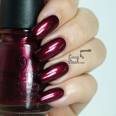 China Glaze Autumn Nights for Fall 2013 - Review and swatches of six shades - Red-y & WillingBESTELD EN BINNEN