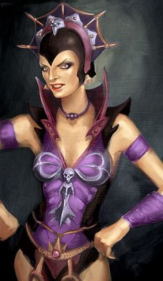 MASTERS of the UNIVERSE - Evil-Lyn by Adam Osgood.