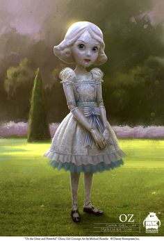 Michael Kutsche - Character Design/ Concept Art/ Illlustration - -Oz the Great and Powerful - china_girl_by_michael_kutsche.jpg