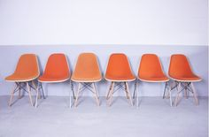 Product: Charles and Ray Eames dining chairs (Charles and Ray Eames) | MARIEKKE Vintage Furniture