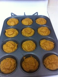 Pumpkin Muffins-low carb