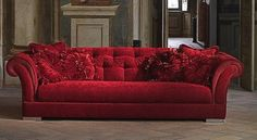 red The Big Comfy Couch, Love Seat, Townhouse, Furniture, Condo, Design, Home Decor, Makeup, Red