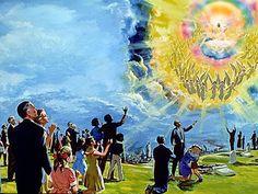 As ultima a profecias ja estão se cumprindo e Jesus estara voltando em breve. Que estejam preparados is filhos de Jeová Deus.